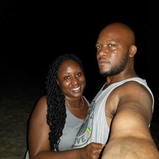 Enjoying our Honeymoon